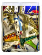 Carousel Charger Duvet Cover
