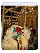 Balboa Park Carousel Duvet Cover
