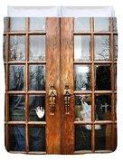 Carousel Doors Duvet Cover