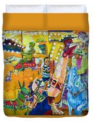Carousel Dreams Duvet Cover