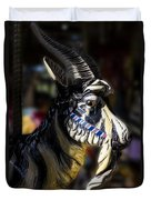 Carousel Goat Duvet Cover
