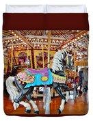 Carousel Horse 4 Duvet Cover