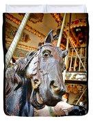 Carousel Horse Head Duvet Cover