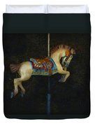 Carousel Horse Painterly Duvet Cover