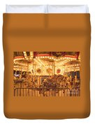 Carousel Night Lights Duvet Cover