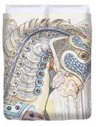 Carousel Stallion Duvet Cover