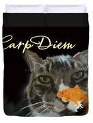 Carp Diem Duvet Cover