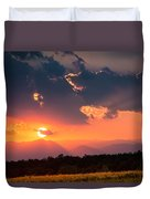 Carpathian Sunset Duvet Cover