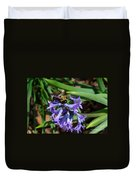 Carpenter On Hyacinth Duvet Cover