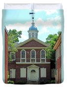 Carpenters Hall In Philadephia Duvet Cover