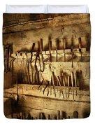 Carpenter's Workroom Duvet Cover