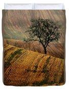 Carpet Fields Of Moravia Duvet Cover