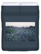 Carpinteria California Wildflowers Duvet Cover