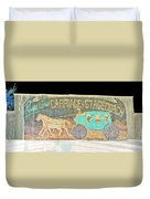 Carriage And Stagecoach Color Invert Duvet Cover
