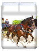 Carriage Artistic Duvet Cover