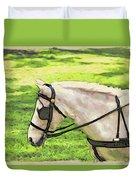 Carriage Pony Duvet Cover