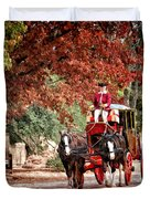 Carriage Ride Duvet Cover