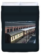 Carriages Duvet Cover