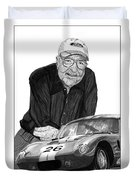Carroll Shelby    Rest In Peace Duvet Cover