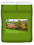 Carrollton Covered Bridge 2 Duvet Cover