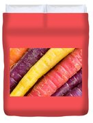 Carrot Rainbow Duvet Cover