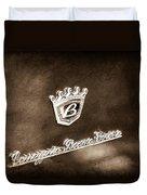 Carrozzeria Boano Emblem Duvet Cover