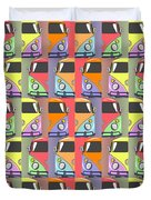 Cars Abstract  Duvet Cover