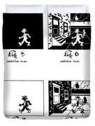 Cartoons Duvet Cover