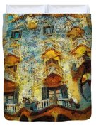 Casa Battlo Duvet Cover by Mo T