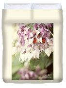 Cascade Of Flower Duvet Cover