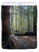 Cascades Forest Path Duvet Cover
