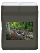 Cascades Of The Forest Duvet Cover