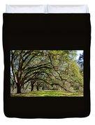 Cascading Oaks Duvet Cover