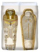 Case And Mummy In Its Cerements Duvet Cover