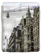 Casino Arcade Damrak Amsterdam Duvet Cover