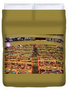 Casino Floor Marina Bay Sands Singapore Duvet Cover