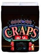 Casino Time Duvet Cover