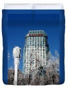 Casino Under Ice Duvet Cover