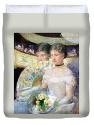Cassatt's The Loge Duvet Cover