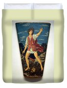 Castagno's David With The Head Of Goliath Duvet Cover