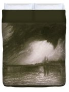 Castania Sicily Duvet Cover by Joseph Mallord William Turner