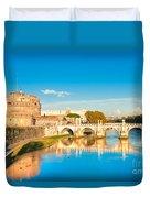 Castel Sant'angelo - Rome Duvet Cover
