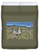 Castell Coch Cardiff Painterly Duvet Cover
