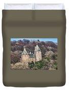 Castell Coch Duvet Cover