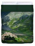 Castelluccio Umbria Duvet Cover