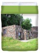 Castle Ruins Duvet Cover