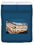 Castillo De San Cristobal San Juan Puerto Rico Duvet Cover