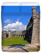 Castillo De San Marcos Duvet Cover