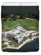 Castillo De San Marcos St Augustine Florida Duvet Cover