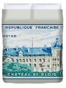 Castle Blois Duvet Cover